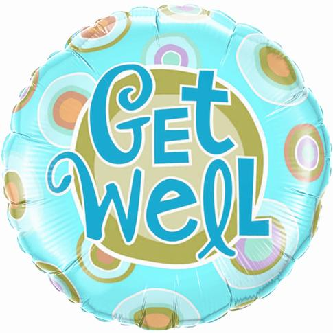 Elegant Get Well Soon Balloon