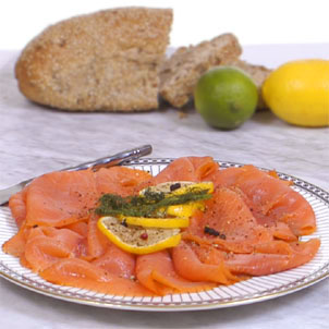 600g Sliced Smoked Scottish Salmon SS13
