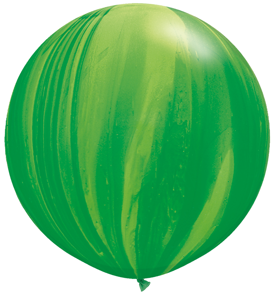 Trendy Green Balloon