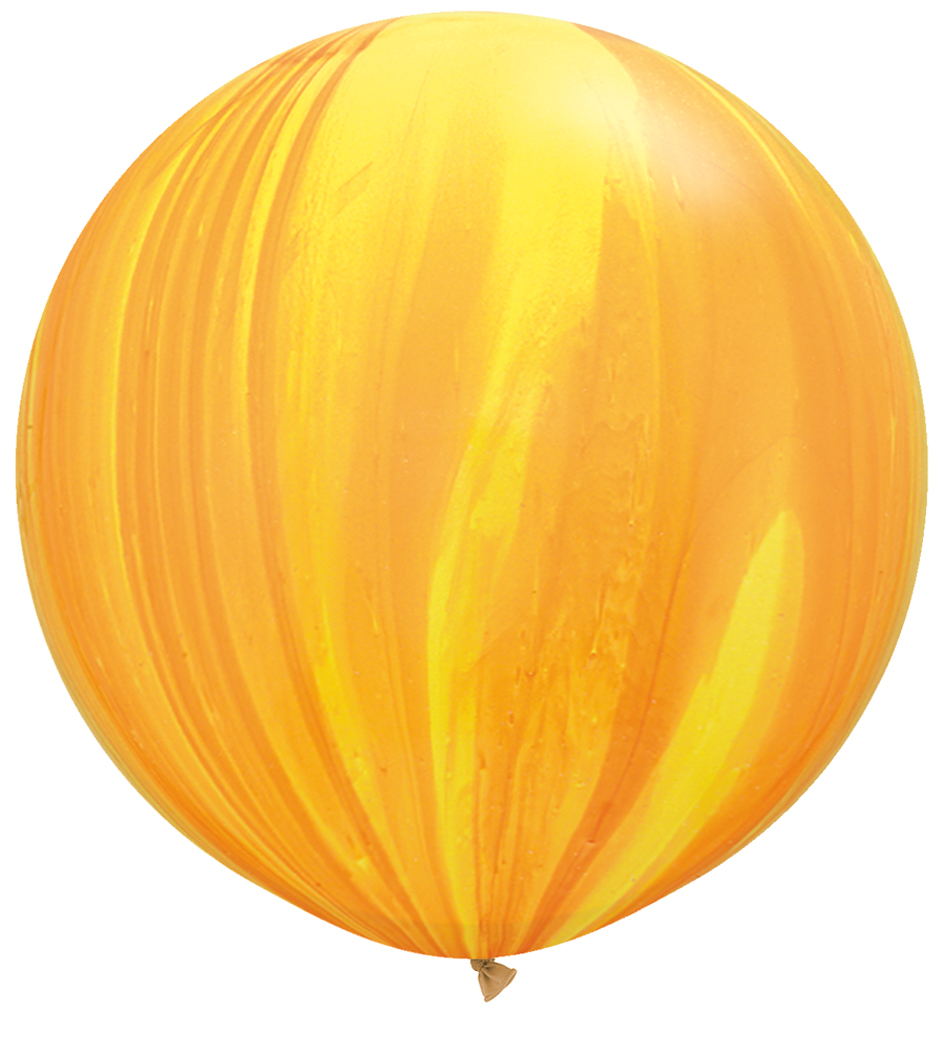 Trendy Yellow Balloon